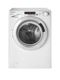 Candy GVSW496DC 9kg Wash, 6kg Dry, 1400 Spin Washer Dryer with Smart Touch - White