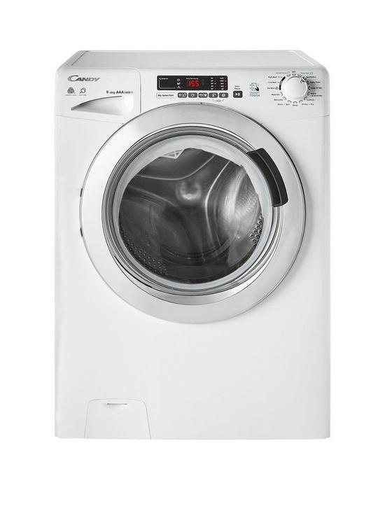 Candy Gvsw496dc 9kg Wash 6kg Dry 1400 Spin Washer Dryer With Smart