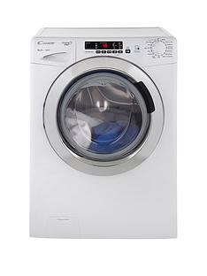 Candy GVS148DC3 Grand'O Vita 8kg Load, 1400 Spin Washing Machine with Smart Touch - White