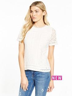 oasis-isla-lace-t-shirt-ivory