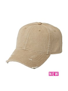 river-island-river-island-stone-palm-badge-distressed-cap