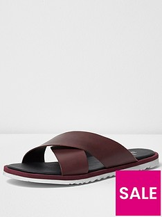 river-island-river-island-mens-cross-over-leather-sandal