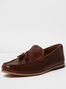river-island-torris-embossed-loafer