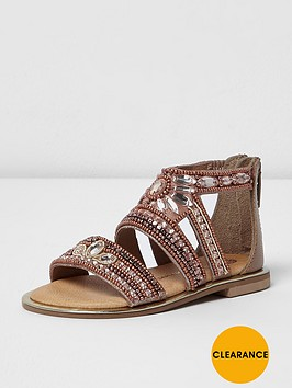 river-island-river-island-mini-girls-flat-sandal-multi-gem-rg