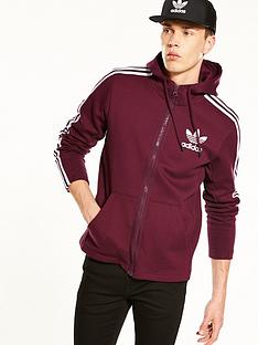 adidas-originals-full-zip-hoodie-maroonnbsp