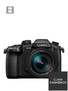 panasonic-dc-gh5leb-k-lumix-g-203-megapixel-compact-system-camera-nbsp12-60mm-leica-dg-lens-pound200-cash-back-available