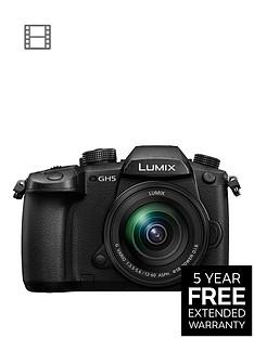 panasonic-dc-gh5meb-k-lumixnbspg-system-cameranbspbluetooth-wi-fi-5ghz-hdmi-type-a-usb-31nbsplumix-g-lenses-blacknbspwith-extended-5-year-warranty-available
