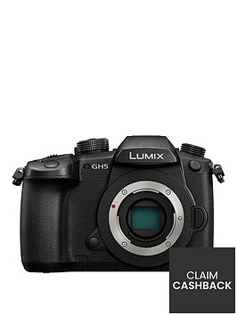 panasonic-lumixnbspg-dc-gh5eb-k-compact-system-camera-4k-uhd-203-megapixel-wi-fi-olednbsplive-viewfinder-32-inchnbsplcdnbspvari-angle-touch-screen-body-only-pound100-cash-back-available