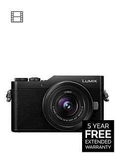 panasonic-lumixnbspg-dc-gx800kebknbspcompact-system-camera-12-32mmnbspinterchangeable-lens-4k-ultra-hd-16mp-4x-digital-zoom-wi-fi-blacknbsp