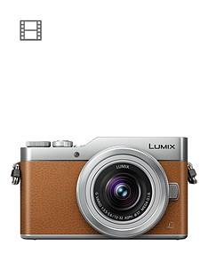 panasonic-lumixnbspg-dc-gx800nbspcompact-system-camera-12-32mmnbspinterchangablenbsplens-4k-ultra-hd-16mp-4x-digital-zoom-wi-fi-3-lcdnbsptouchscreen-free-angle-monitor-tan