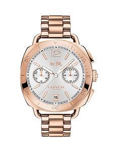 coach-coach-tatum-silver-tone-multi-dial-rose-tone-bracelet-watch