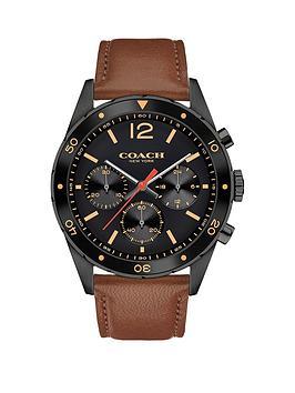 coach-coach-sullivan-sport-black-multi-dial-brown-leather-strap-mens-watch