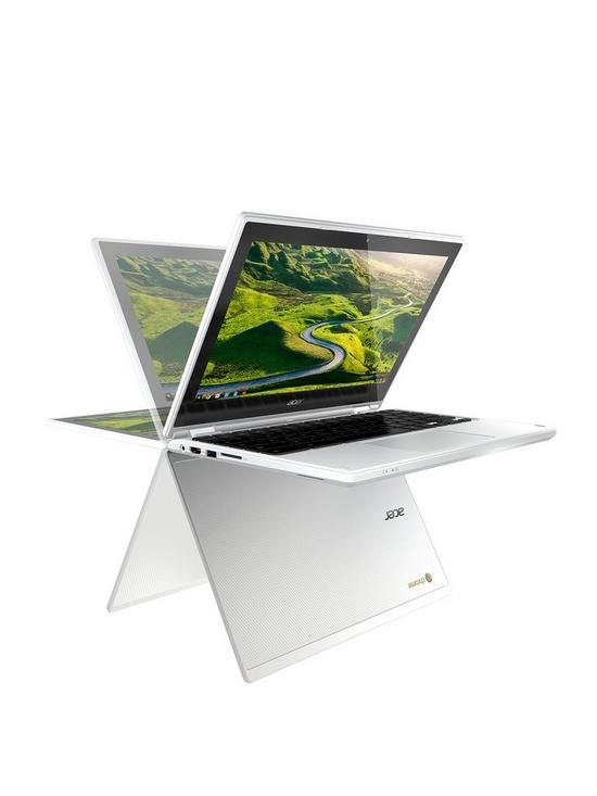 0386ee07272 Acer R 11 Intel® Celeron®, 4Gb RAM, 32Gb Storage, 11.6 inch Touchscreen  2-in-1 Chromebook - White