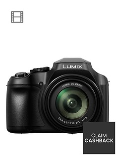 panasonic-lumix-dc-fz82-bridge-camera-4k-uhd-181-mp-60x-optical-zoom-wi-fi-live-viewfinder-3nbspinchnbsplcd-touch-screen-blacknbsppound30-cash-back-available