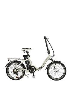 Falcon Flux Alloy Low Step Folding E-Bike 15 inch Frame