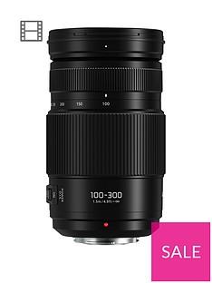 panasonic-h-fsa100300e-lumix-g-vario-100-300mm-super-telephoto-lens-black