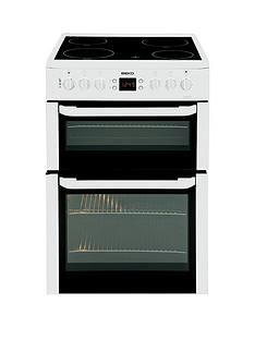 beko-bdvc667wnbsp60cmnbspdouble-oven-electric-cooker-white-next-day-delivery