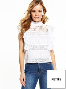 v-by-very-petite-frill-cotton-blouse