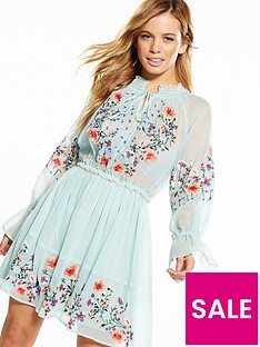 v-by-very-petite-long-sleeve-embroidered-dress