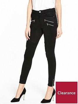 v-by-very-faux-suede-zip-biker-trouser