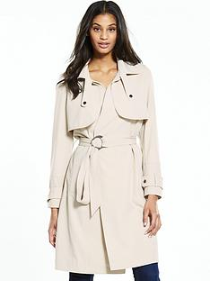 neon-rose-o-ring-belted-crepe-trench-cream