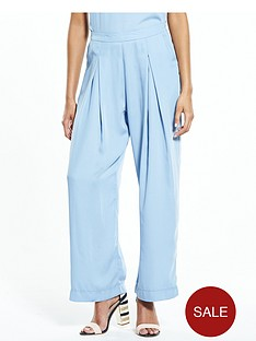neon-rose-blue-crepe-wide-leg-trousers