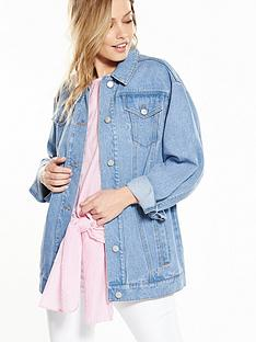 warehouse-oversized-denim-jacket