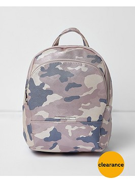 river-island-girls-camouflage-backpack