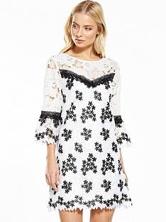 miss-selfridge-lace-organza-dress