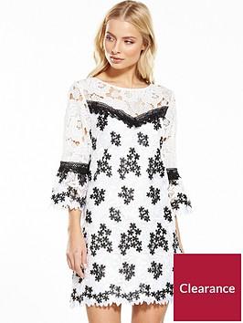 miss-selfridge-lace-organza-dress