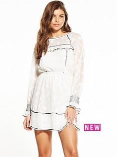 miss-selfridge-star-jacquard-dress