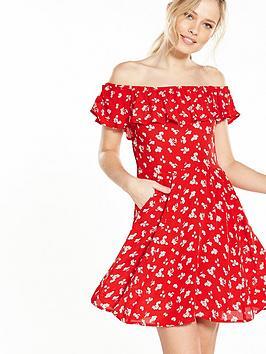 miss-selfridge-bardot-skater-dress
