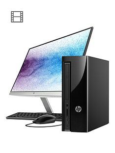 hp-slimline-411-a025na-intel-pentiumnbsp8gb-ramnbsp1tb-hard-drive-desktop-pc-with-22-inch-monitor-black
