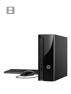 hp-slimline-260-p135na-intelreg-coretrade-i3-processornbsp8gb-ramnbsp1tb-hard-drive-desktop-pc-base-unit-black