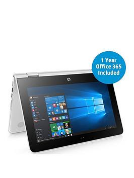 hp-hp-stream-x360-11-aa003na-intel-celeron-processor-2gb-ram-32gb-storage-116in-touchscreen-2-in1-laptop-includes-microsoft-office-365-personal-white