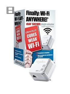 devolo-dlan-500-wifi-adaptor-white
