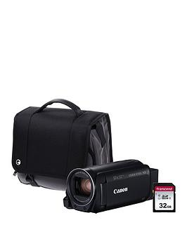 Canon Legria Hf R806 Camcorder Kit Inc 32Gb Sd Card And Case – Black