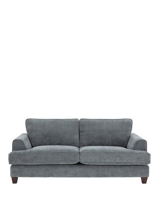 Ideal Home Camden 3 Seater Fabric Sofa | Very.co.uk