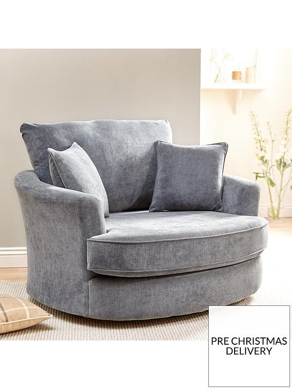 Miraculous Camden Fabric Swivel Chair Uwap Interior Chair Design Uwaporg