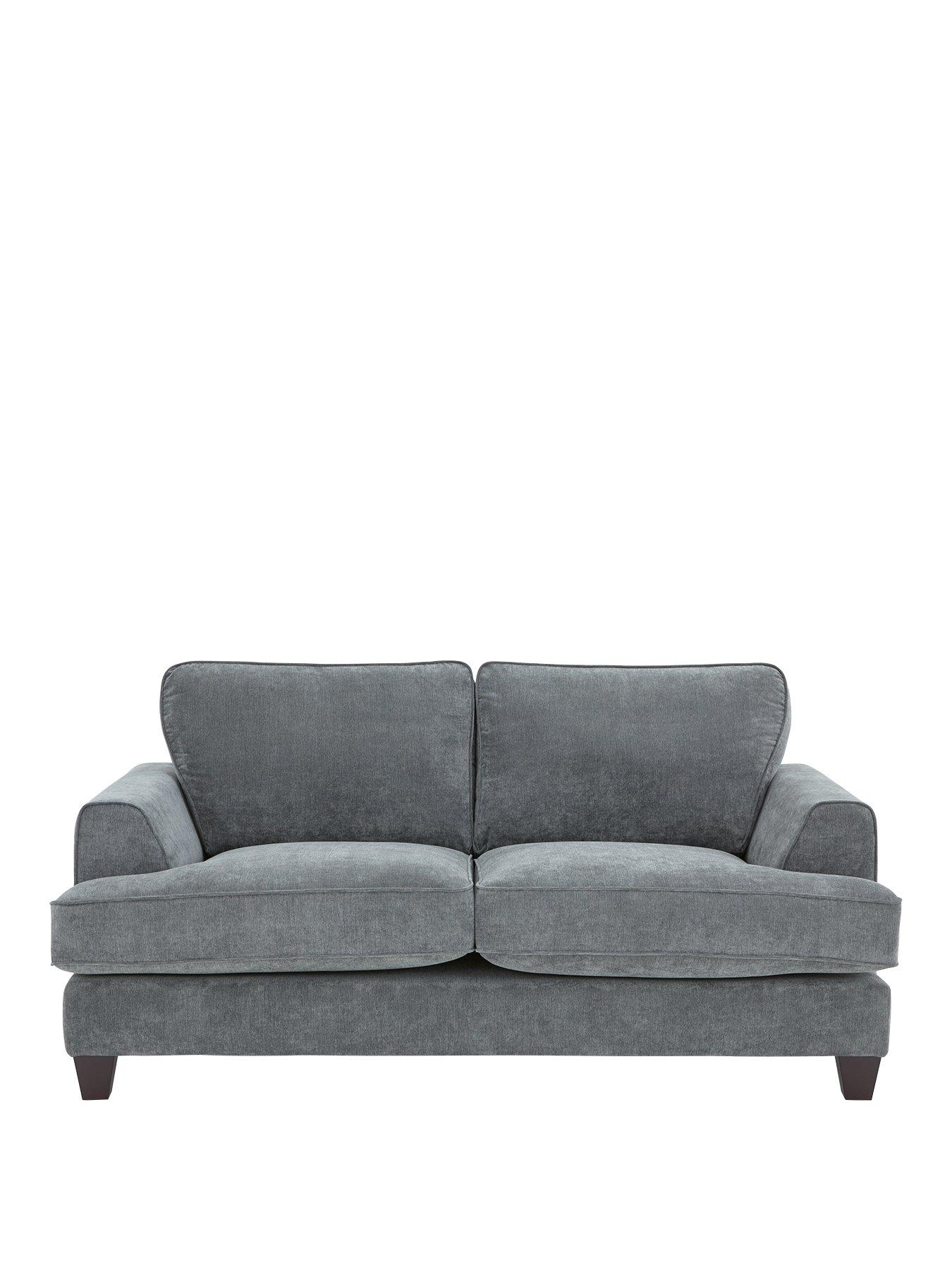 Ideal Home New Camden 2 Seater Fabric Sofa | Very.co.uk
