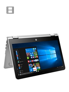 hp-pavilion-x360-13-u103na-intel-core-i5-7200unbspprocessor-8gb-ram-128gb-ssd-133-inchnbsptouchscreen-2-in-1-laptop-with-optional-microsoft-office-365-home--silver