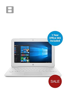 hp-stream-11-y003na-intelreg-celeronregnbspn3060nbspprocessor-2gbnbspram-32gbnbspstorage-116-inch-laptop-with-1-year-office-365-includednbsp--white