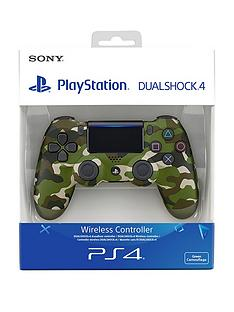 Playstation 4 Green Camouflage DualShock Controller