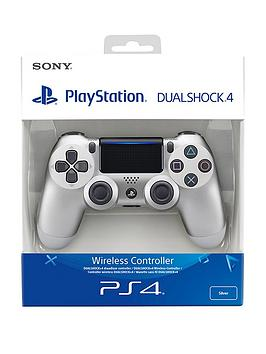 playstation-4-silver-dualshock-controller