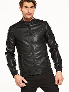 Leather Jackets | Coats & jackets | Men | www.very.co.uk
