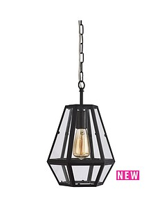 chicago-hexagonal-caged-pendant-light