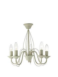 gracie-5-light-semi-flush-brushed-chandalier