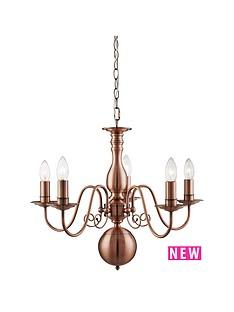 orleans-5-light-antique-copper-chandelier