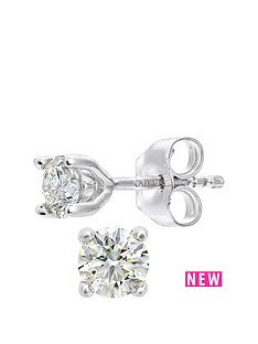 love-diamond-18ct-white-gold-25-point-diamond-solitaire-earring