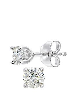 love-diamond-love-diamond-18ct-white-gold-25-point-diamond-solitaire-earrings